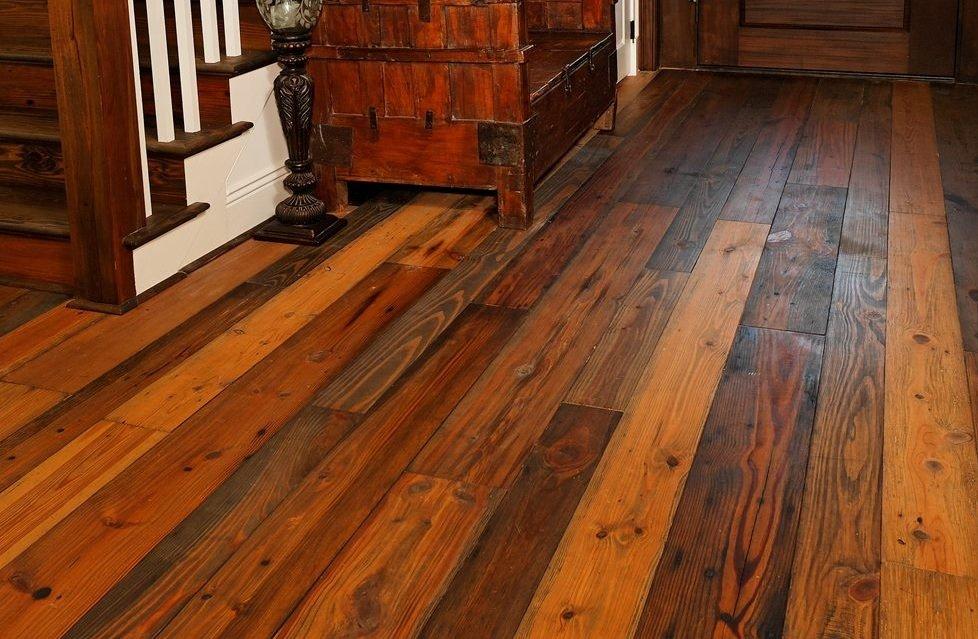 Особенности деревянного пола