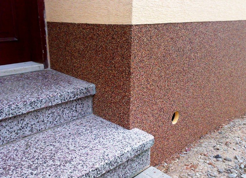 Каменная крошка в строительстве