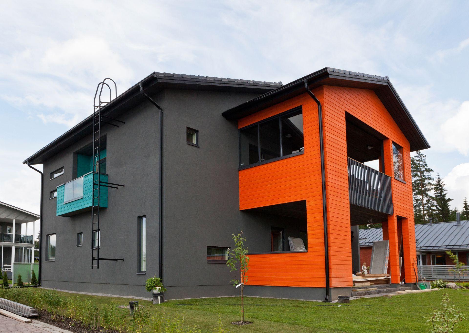 Материалы для покраски фасада