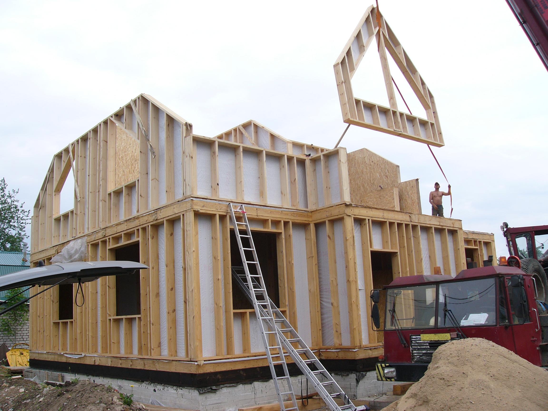 Технология производства щитовых домов