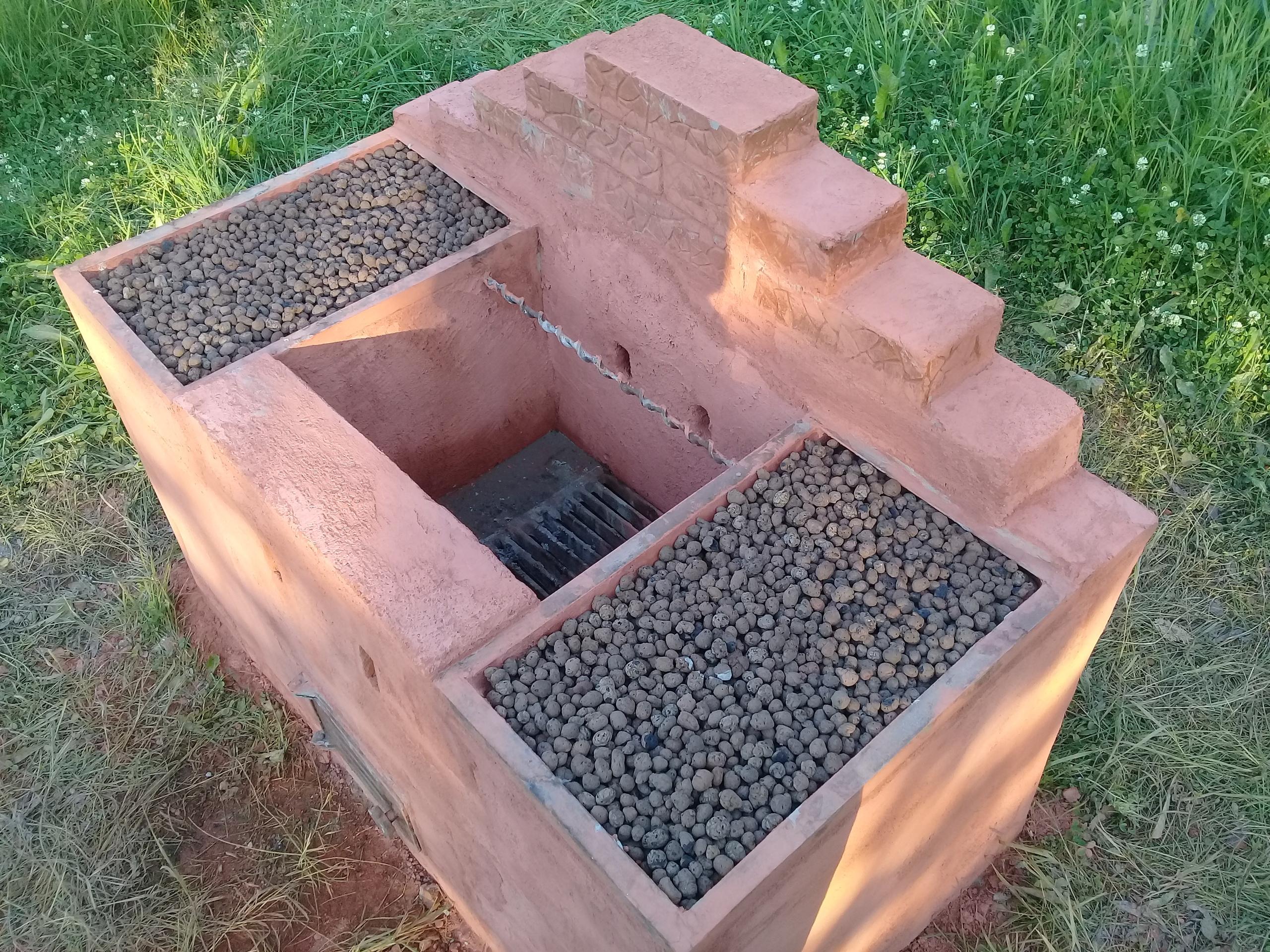 Коптильня в саду - предварительные приготовления