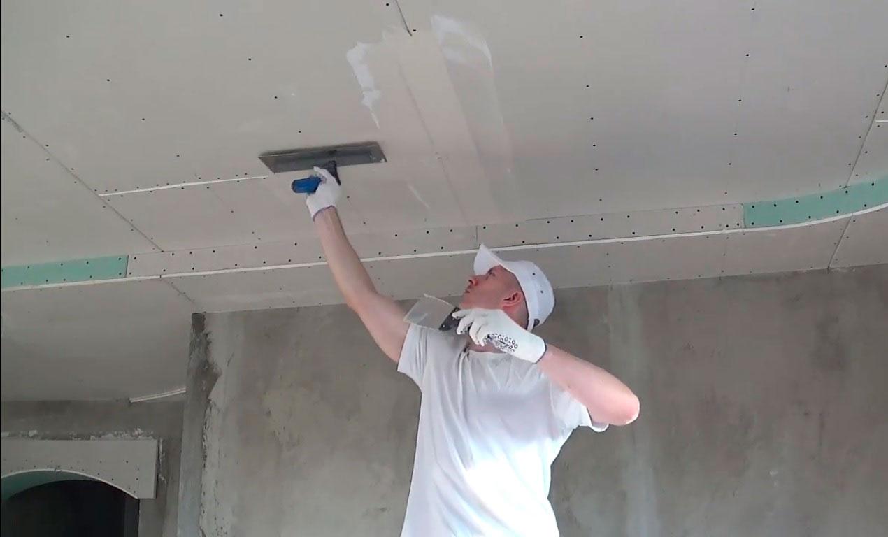 Как подшить стены гипсокартонными панелями под покраску